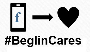 Check-in. Do Good. #BeglinCares
